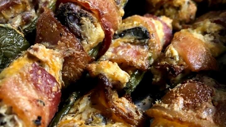 Image of Smoked & Stuffed Jalapeño Popper Appetizers