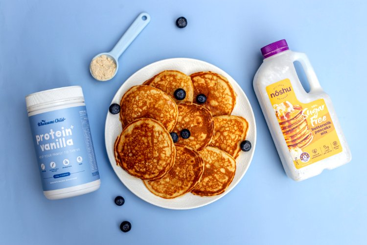 Image of Follow the package instructions and add Protein+ Vanilla powder and...