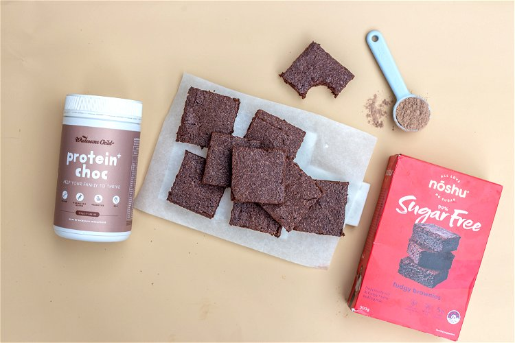 Image of Follow the package instructions and add Protein+ Choc powder and...