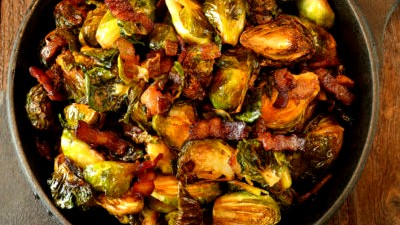 Image of Bacon Roasted Brussel Sprouts