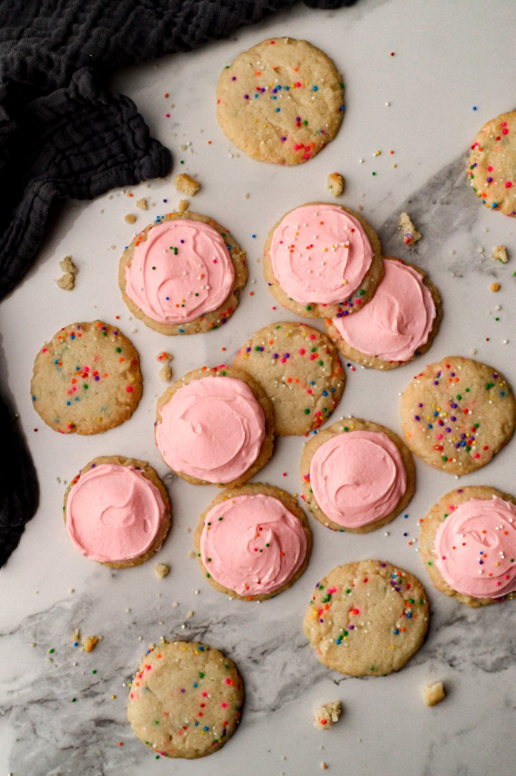 Image of Optional: Decorate your cookies with your favourite buttercream frosting.