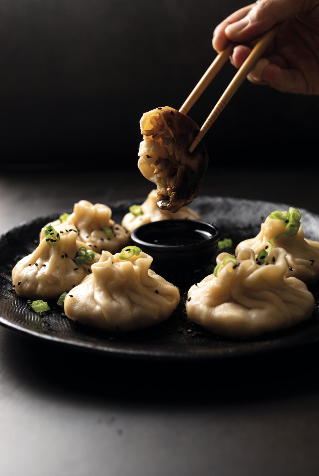 Image of Günstiges Dumplings-Rezept (vegan)