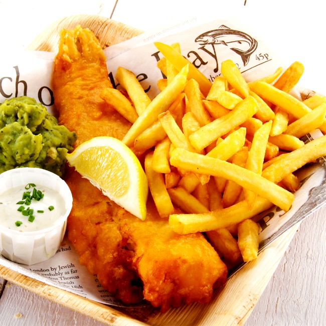 Image of Savory and Tender Air Fryer Fish & Chips