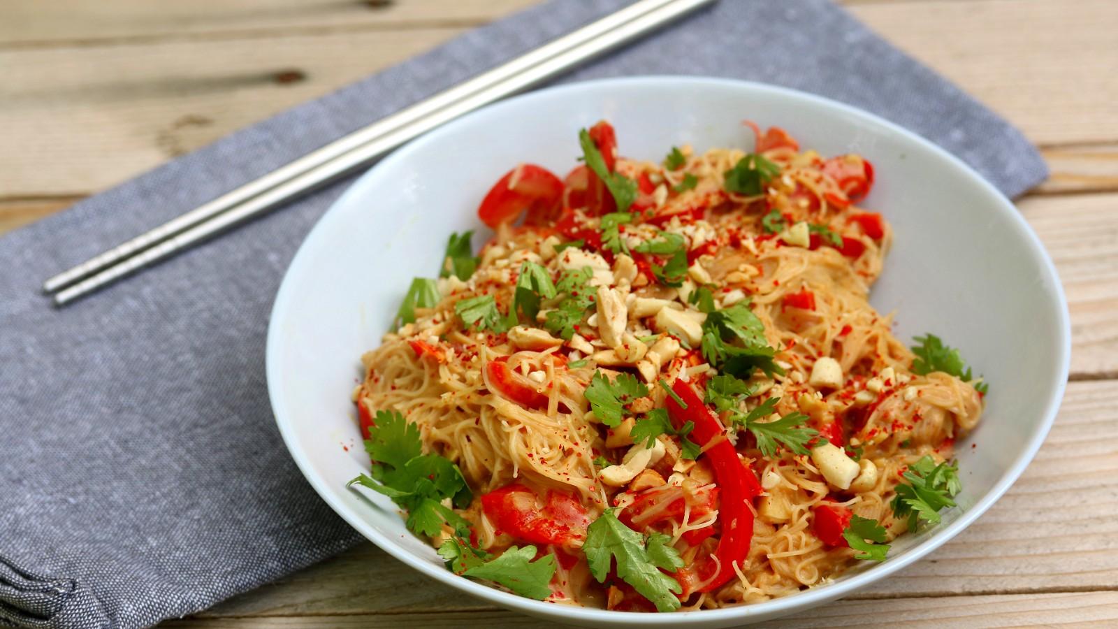 Image of Satay Noodles Recipe