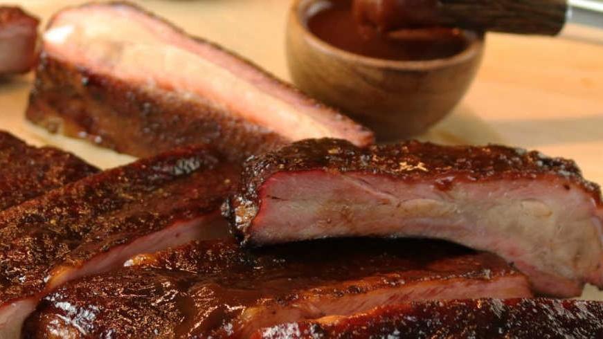 Image of Smoked St. Louis Pork Ribs