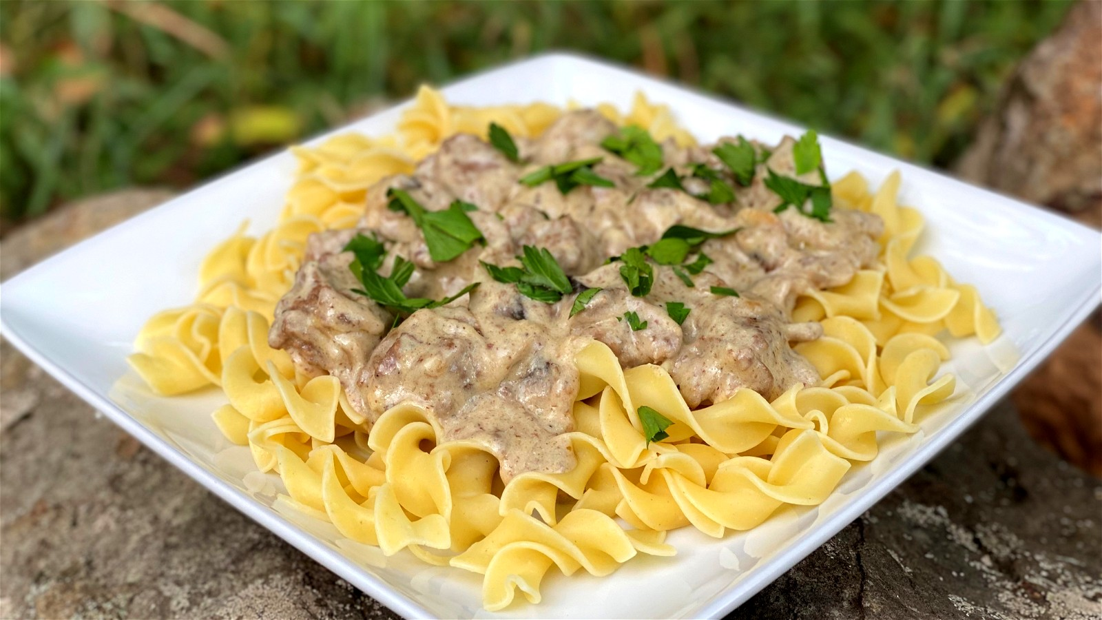 Image of The Best Beef Stroganoff with White Truffle
