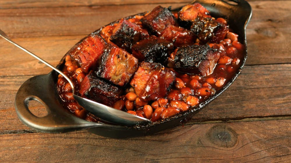 Image of Brisket Burnt Ends And Beans