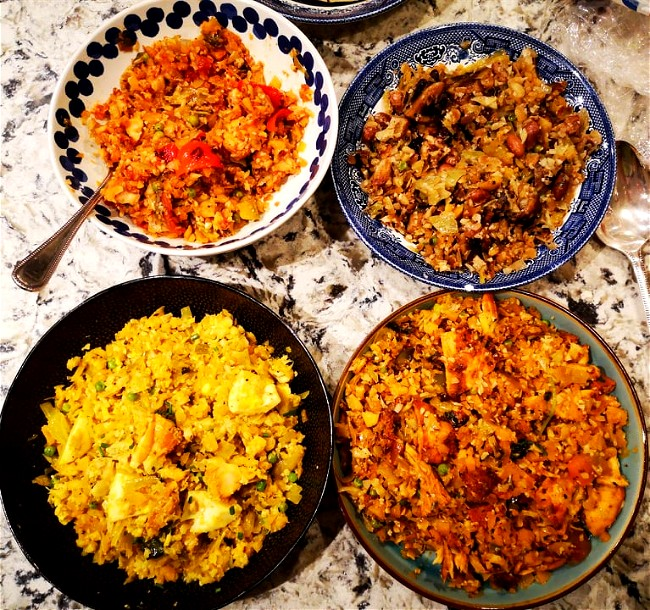 Image of 1 Rice Dish 4 Ways