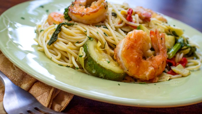 Image of Shrimp & Zucchini Scampi