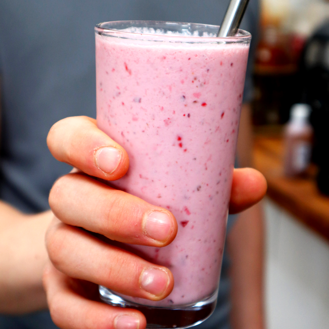 Image of Berry & Almond Smoothie