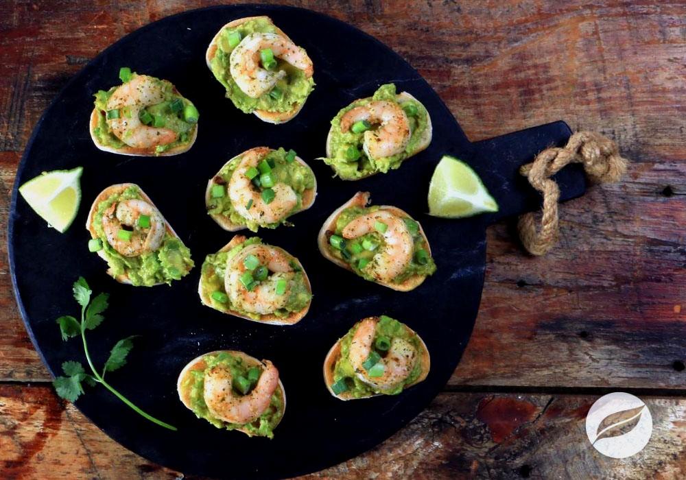 Image of Cilantro Lime Shrimp Crostini