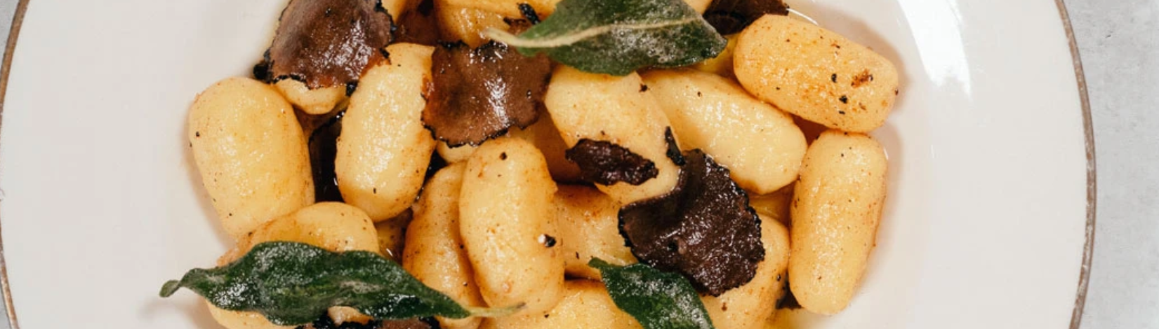 Image of Sweet Potato Gnocchi with Truffle Brown Butter