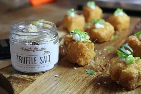 Image of Truffle Mac N Cheese Bites