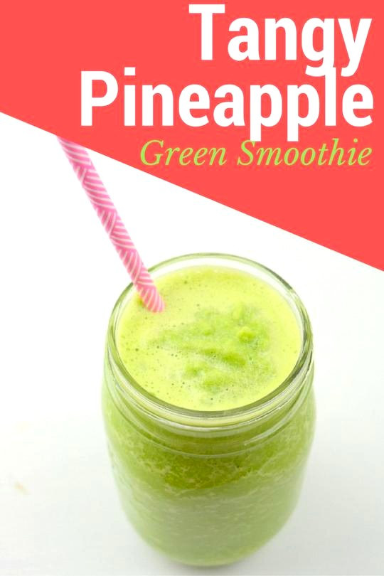 Image of Tangy Pineapple Green Smoothie