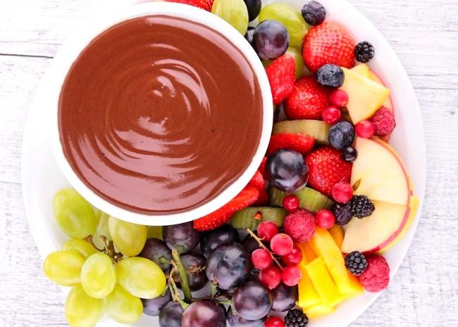Image of Raspberry Chocolate Fondue