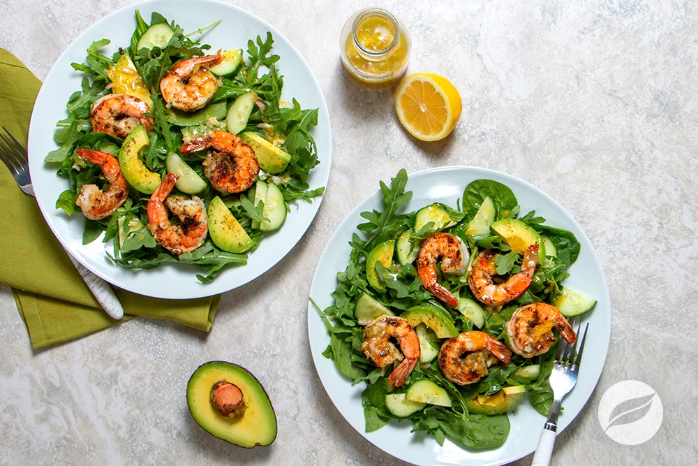 Image of Chipotle Shrimp & Avocado Salad