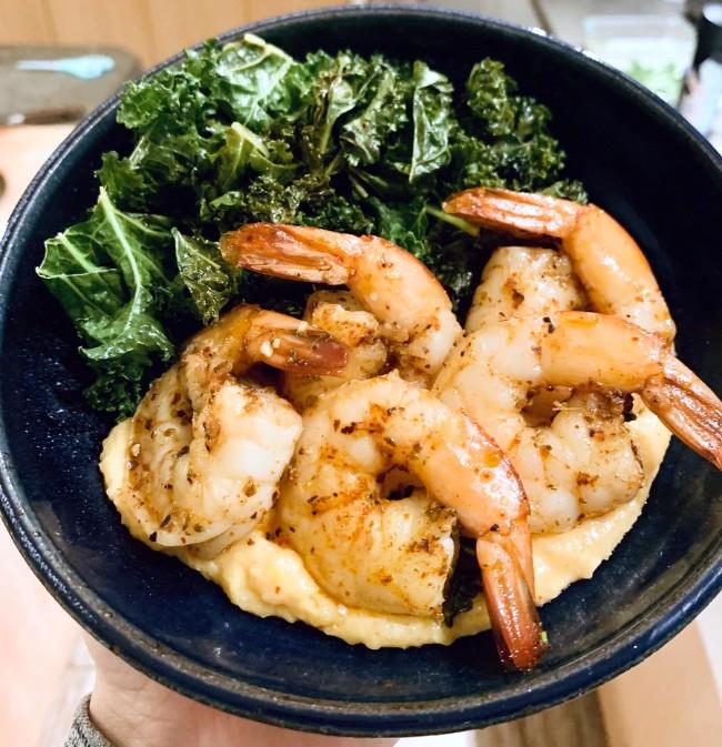 Image of Piment d'Ville + Curry Shrimp