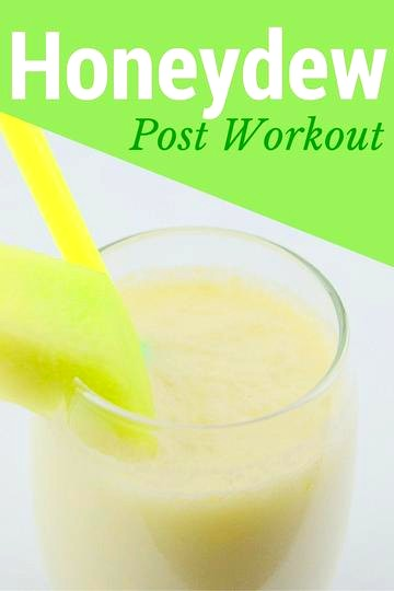 Image of Honeydew Post Workout Smoothie