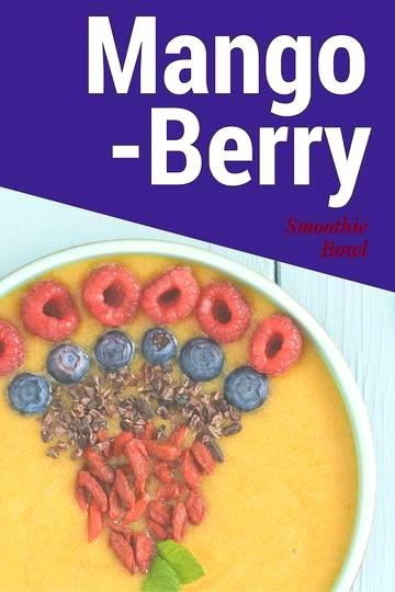 Image of Mango Berry Smoothie Bowl
