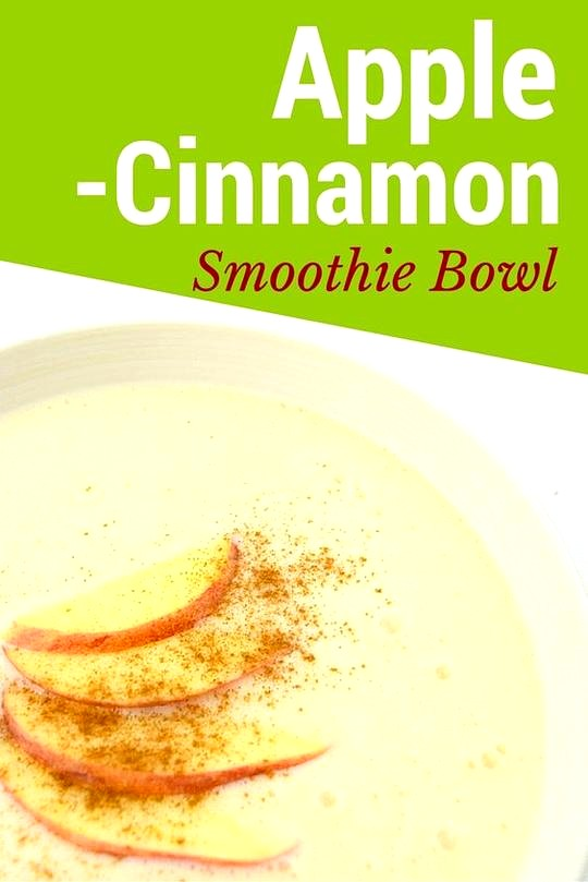 Image of Apple Cinnamon Smoothie Bowl