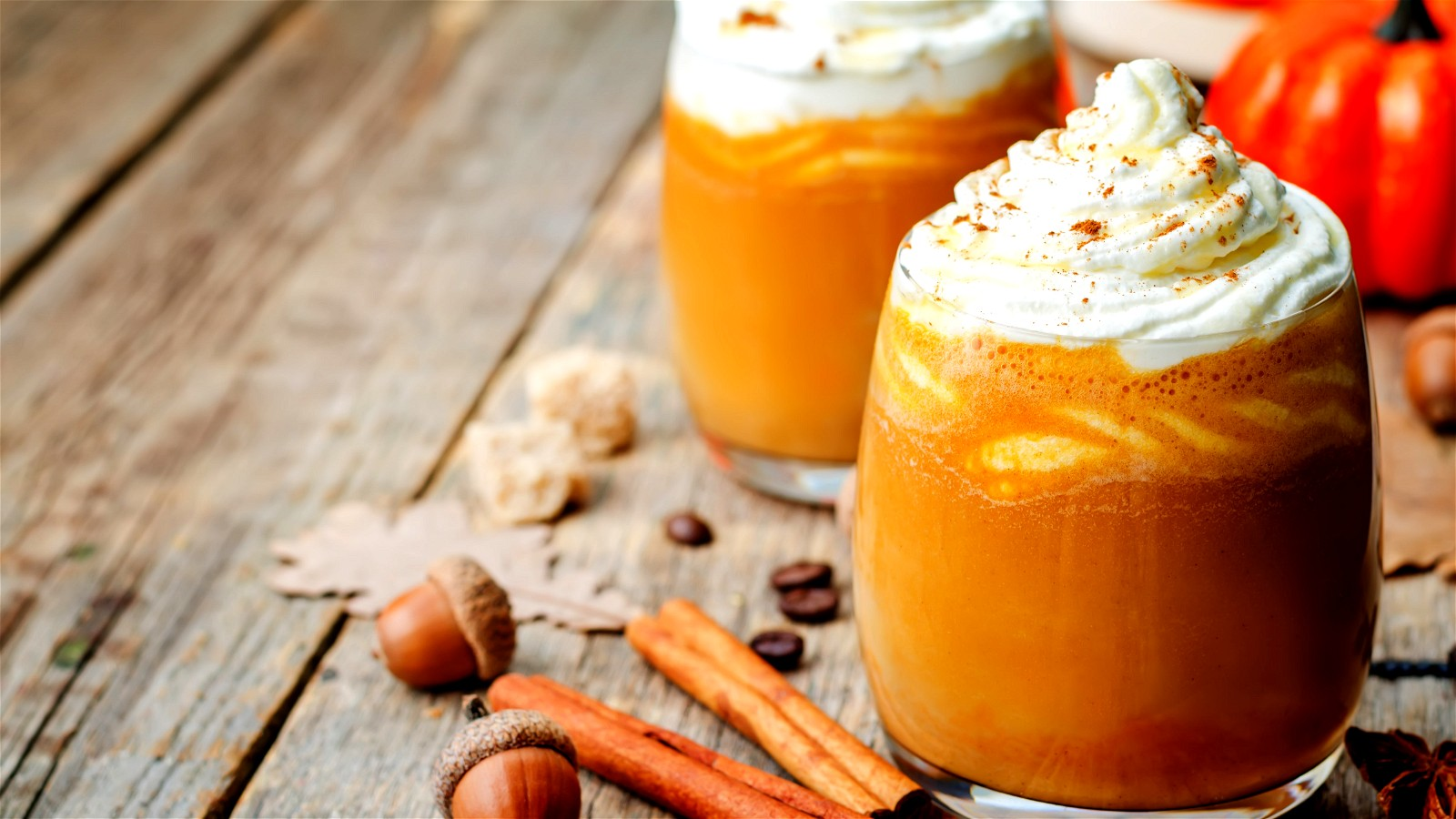 Image of Pumpkin Spice-Up Cappuccino
