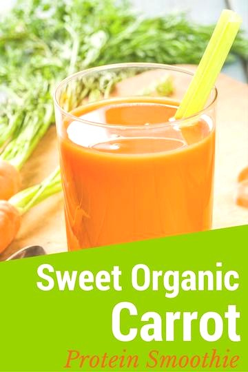 Image of Sweet Organic Carrot Protein Smoothie