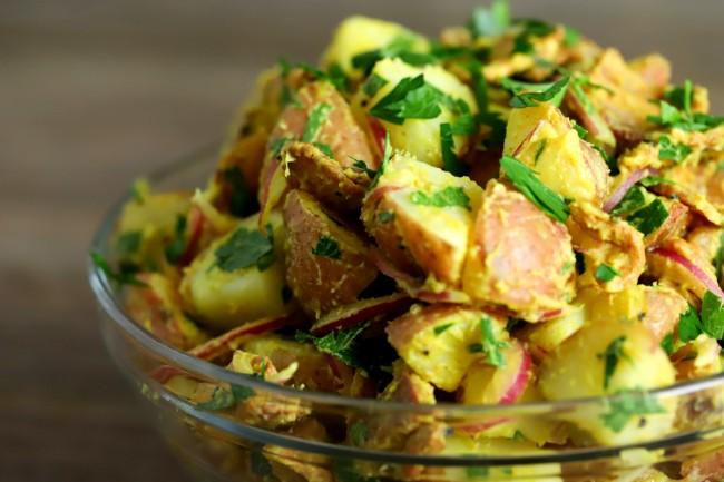 Image of German Mustard Potato Salad