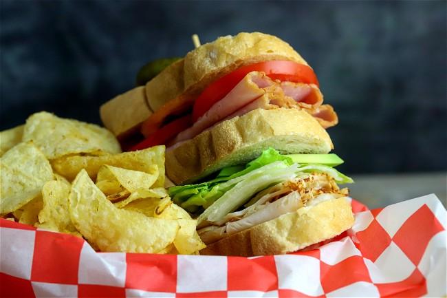 Image of Dill Club Sandwich