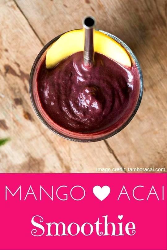 Image of Mango Acai Smoothie
