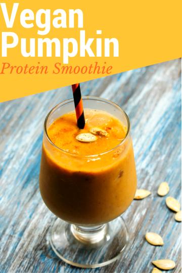 Image of Vegan Pumpkin Protein Smoothie