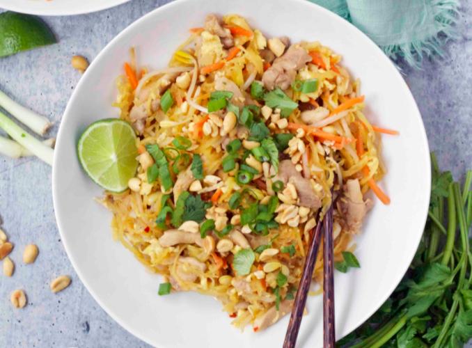 Image of Spaghetti Squash Pad Thai