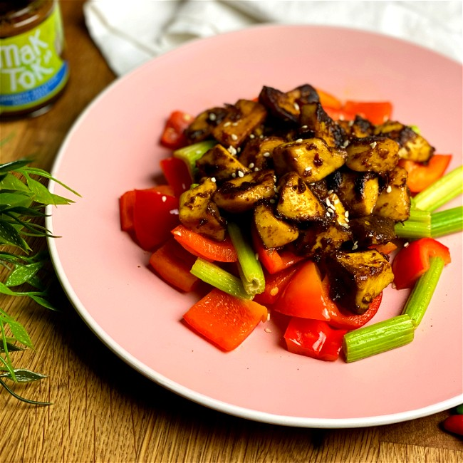 Image of King Oyster Mushroom Stir-Fry