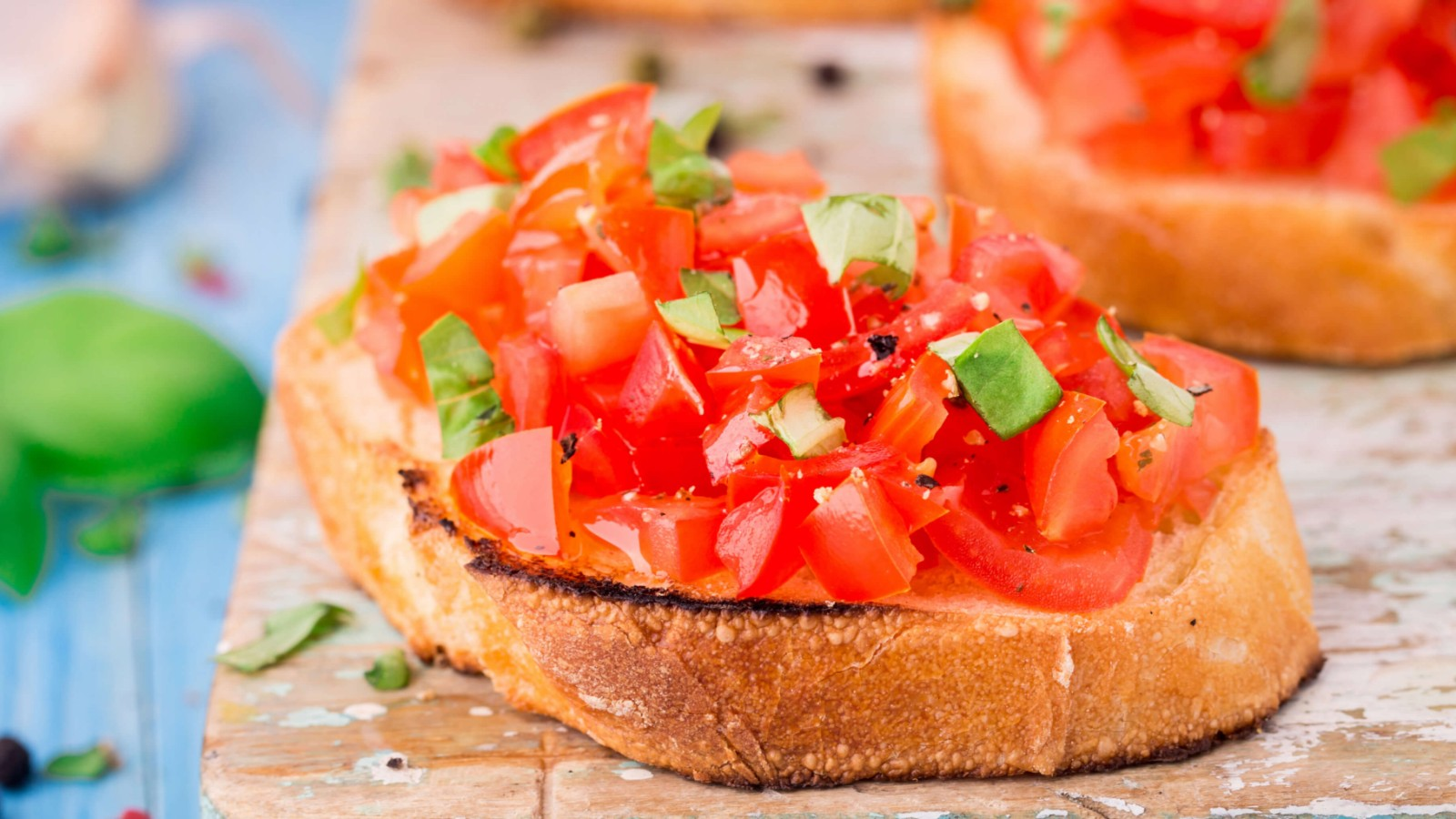 Image of Bruschetta ze świeżych pomidorów 🇮🇹