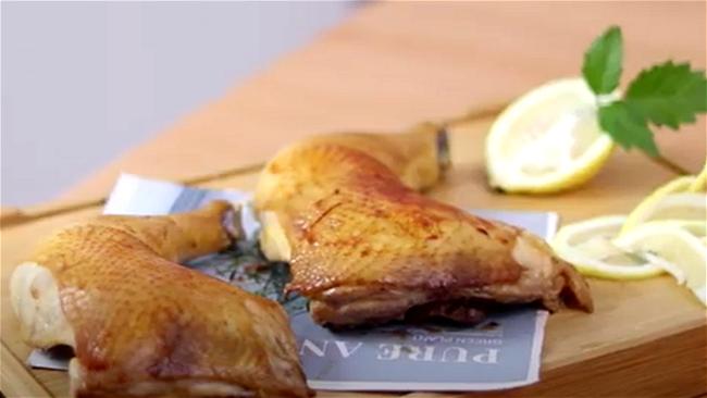 Image of Honey Lemon Chicken in Air fryer