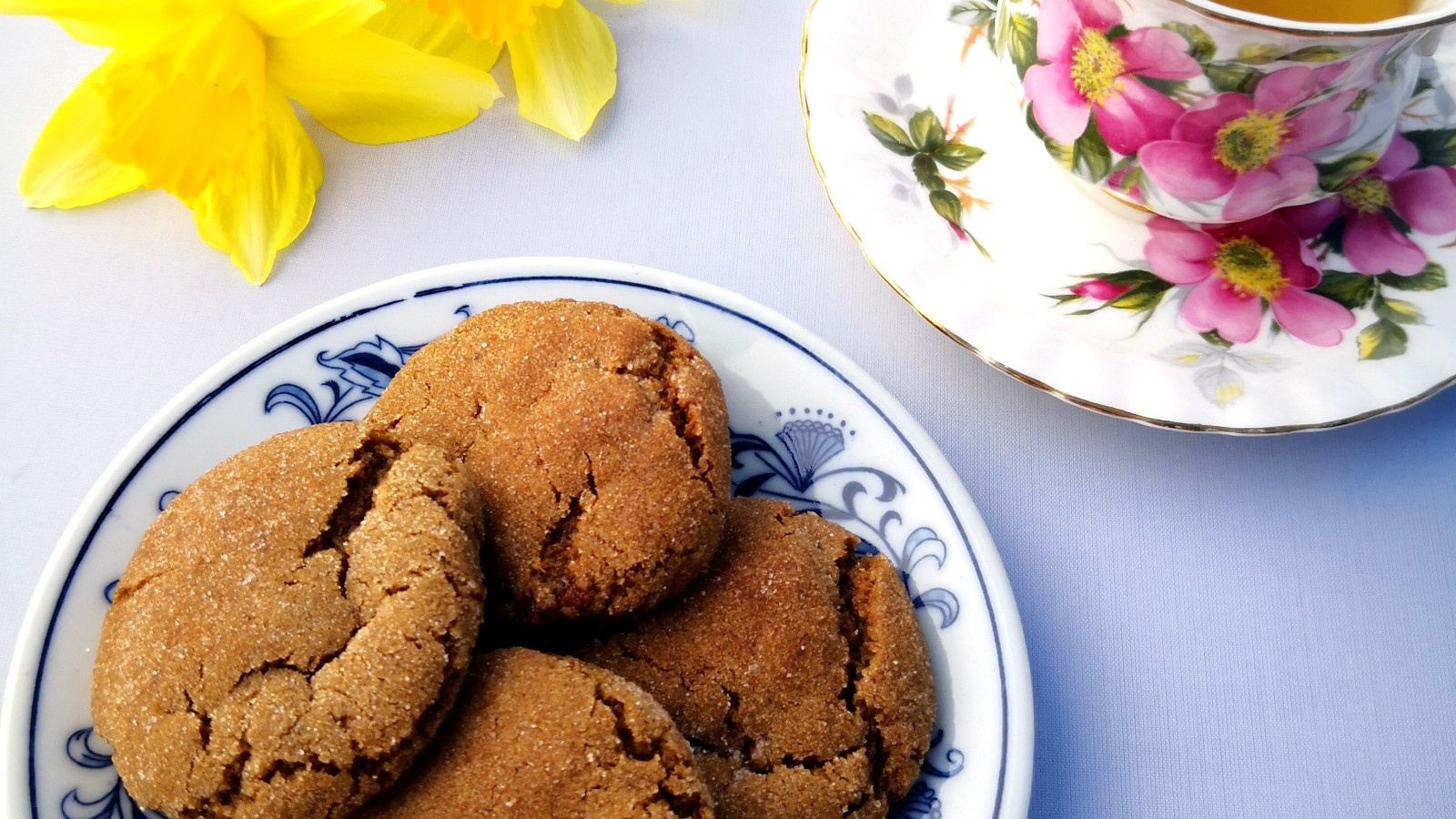Image of Chewy Black Garlic Molasses Sugar Cookies
