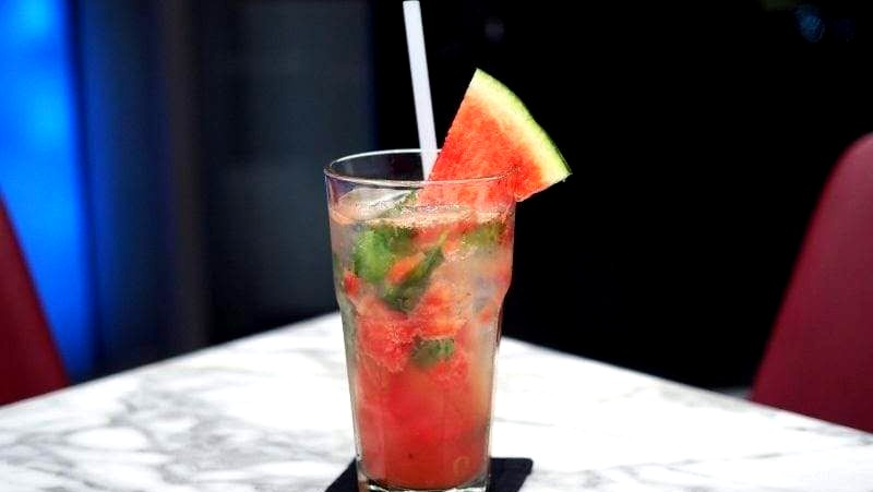 Image of Sparkling Watermelon Lychee Cocktail