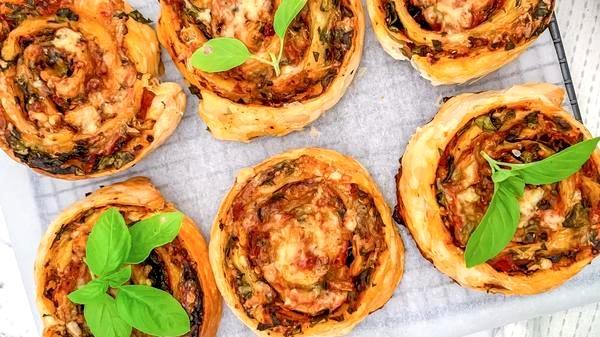 Image of Veggie Pizza Pinwheels