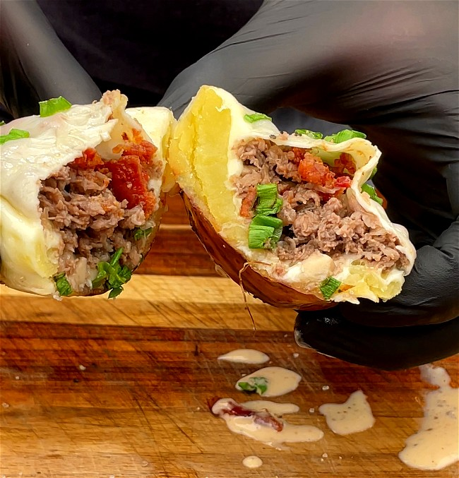 Image of Philly Cheese Steak Potato Skins