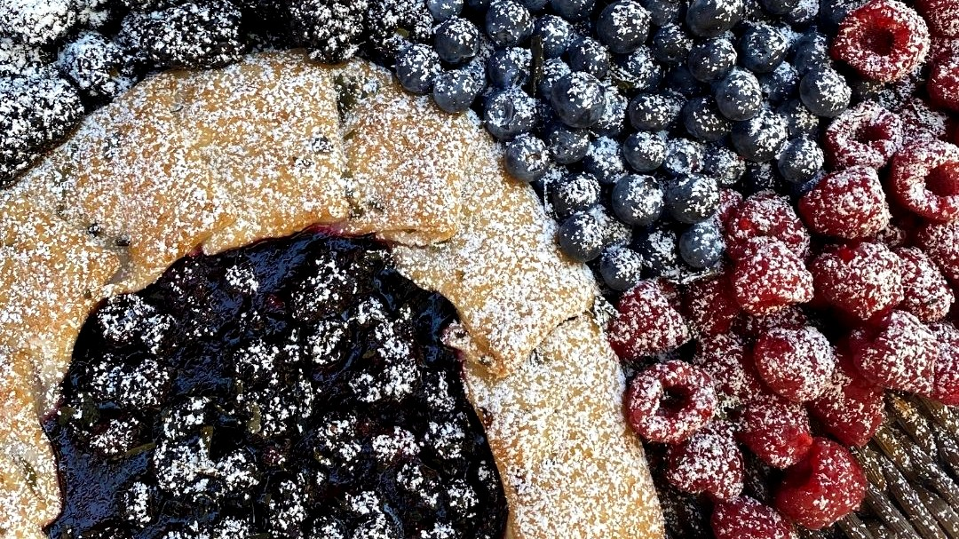 Image of Wakame & Berry Galette