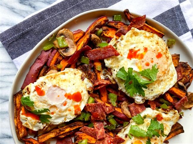 Image of Turkey Bacon Loaded Breakfast Fries