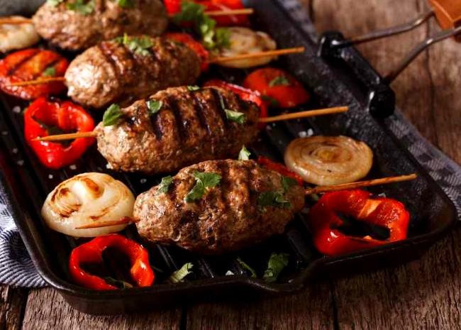 Image of Barbequed Lamb Kebabs