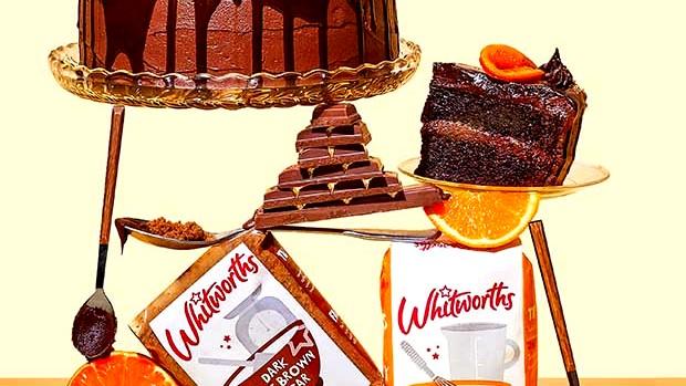 Image of Chocolate and Orange Celebration Cake