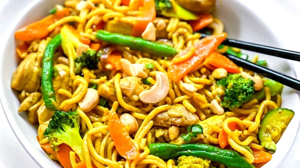 Image of Chicken Noodle Stir fry