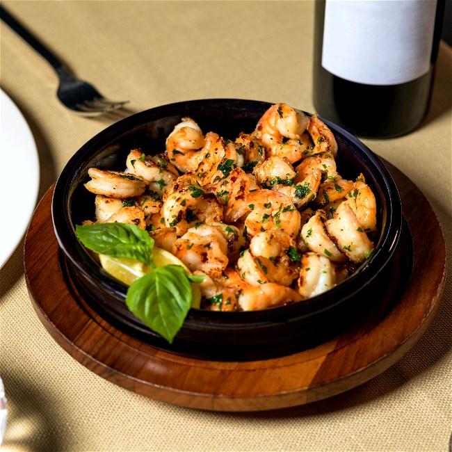Image of Air Fryer Lemon Pepper Shrimp