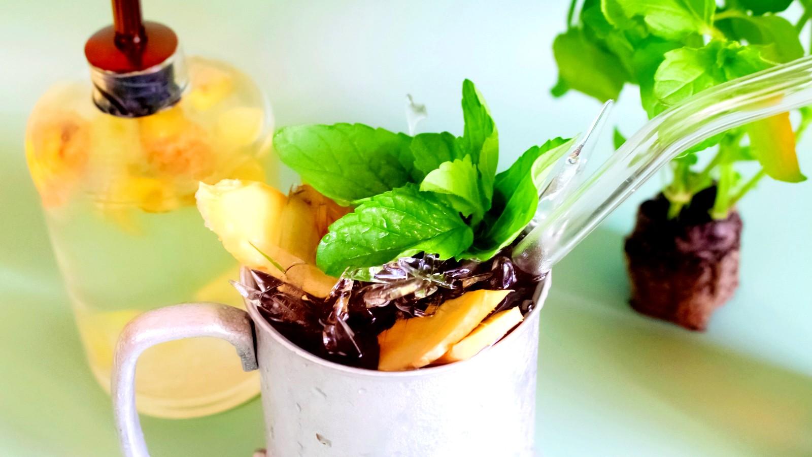 Image of Pineapple Mint Maui Mule