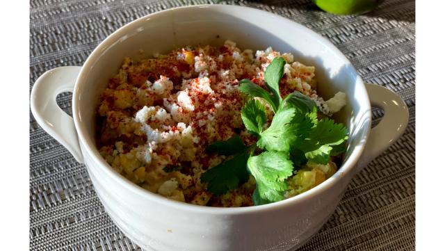 Image of Creamy Mexican corn