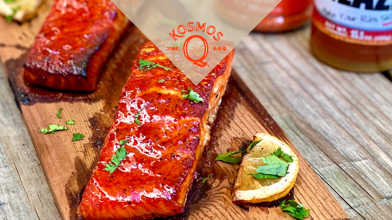 Image of Grilled & Glazed Salmon