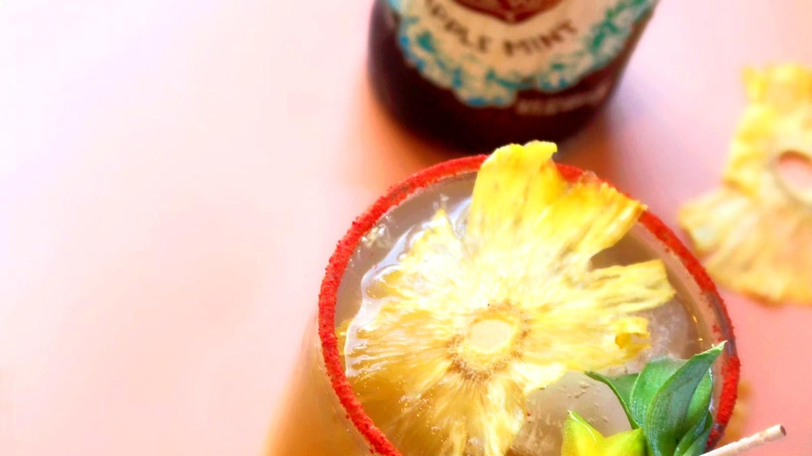 Image of Pineapple Mint Mai Tai