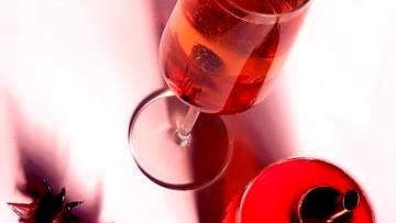 Image of Lemon Cactus Rose Champagne Cocktail