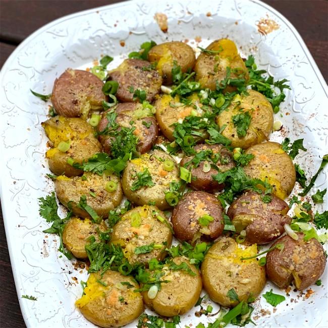 Image of Ayala & Parmesan Smashed Potatoes